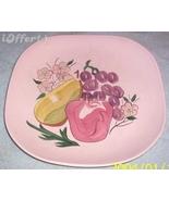 "MID CENTURY MODERN RETRO-REDWING-- FRUIT DINNER PLATE 10 1/2"" - $14.95"