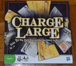 CHARGE LARGE THE CREDIT CARD BORROWING GAME! PARKER 2009 BRAND NEW SEALED - $22.76