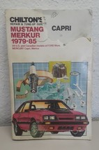 Chiltons Ford Mustang Capri Merkur 1979 - 85 Repair and Tune Up Guide Ma... - $7.91