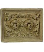"Hellenistic Scrolls relief Decorative Sculpture plaque 24"" - $98.01"