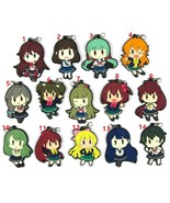 BATTLE GIRL HIGH SCHOOL Keychain Anime Game Rubber Strap Charm Kanon - $3.85 - $4.93