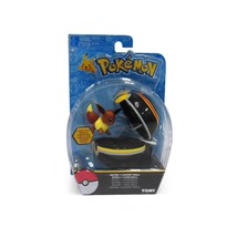 TOMY, Pokemon Action Figure, Clip & Carry Eevee + Luxury Ball, New and S... - $21.73