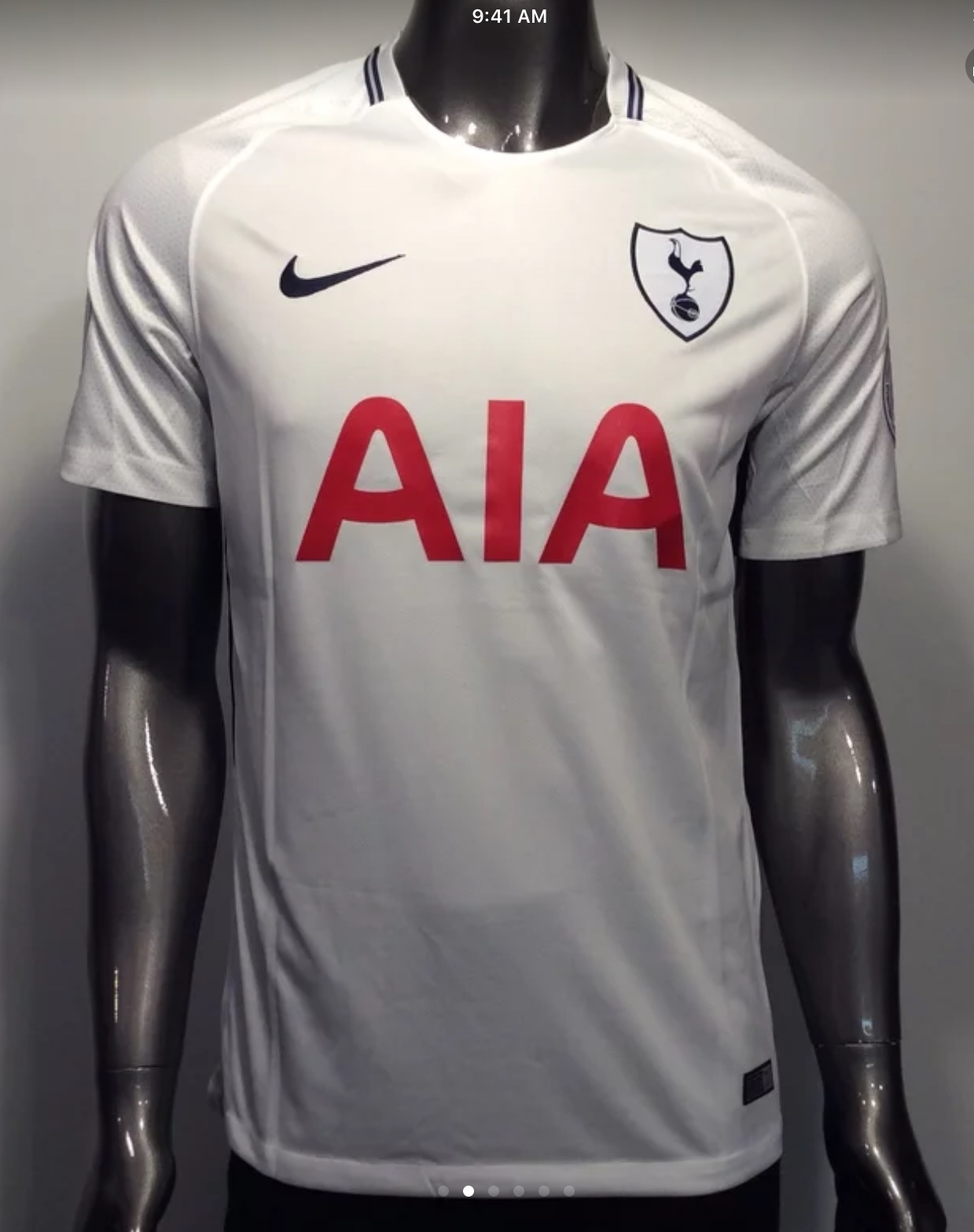 buy popular 4d1f9 c81be 2017-18 Tottenham Heung-Min Son #7 Men's and 50 similar items