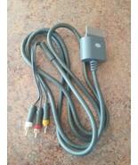 Genuine OEM Original Microsoft X810973-001 Xbox 360 Composite AV RCA Cab... - $9.89
