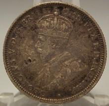 KM #26 1927 Australia Silver Shilling VF #0443 - $24.99