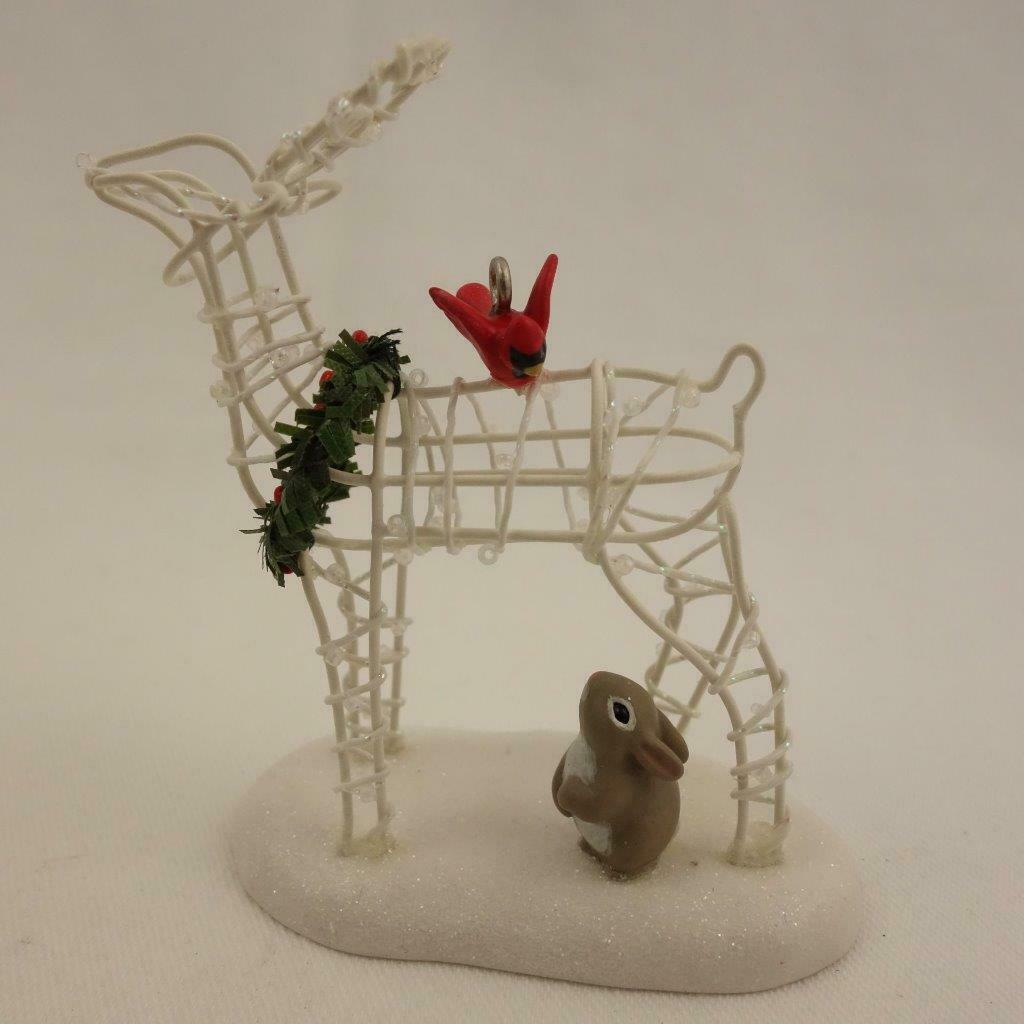 Primary image for Hallmark Keepsake Ornament 2006 Deer Friend Christmas Ornament