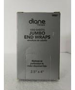 """Diane Jumbo End Wraps 1000 sheets 2.5"""" X 4"""" OPEN BOX B4 - $9.75"""