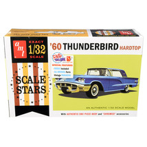 Skill 2 Model Kit 1960 Ford Thunderbird Hardtop Scale Stars 1/32 Scale M... - $48.37