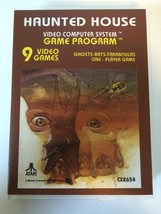 Haunted House - Atari 2600 - Replacement Case - No Game - $7.91