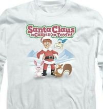 Santa Claus is Comin to Town Retro 70's Christmas TV Special long sleeve DRM137 image 3