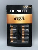 32 Count DURACELL AAA Alkaline Batteries MN24TB32 1.5 V Coppertop exp 2030 NEW - $24.50