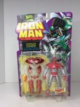 ToyBiz Crimson Dynamo Blasting Action Iron Man Action Figure Marvel Comics 1996 - $28.05
