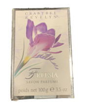 Freesia Crabtree & Evelyn Soap Vintage 100 g 3.5 oz New in Box - $28.71