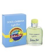 Light Blue Italian Zest by Dolce & Gabbana Eau De Toilette Spray 4.2 oz - $92.95