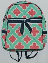 NGIL OTP2828NY Quilted Geometric Pattern Microfiber Backpack image 1