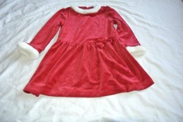 Gymboree Faux Fur Red Dress 4T Holiday new with tags SWEET TREATS - $18.76