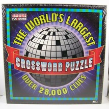 World's Largest Crossword Puzzle by Herbko New Sealed In Box (1997) 7 ft... - $29.98