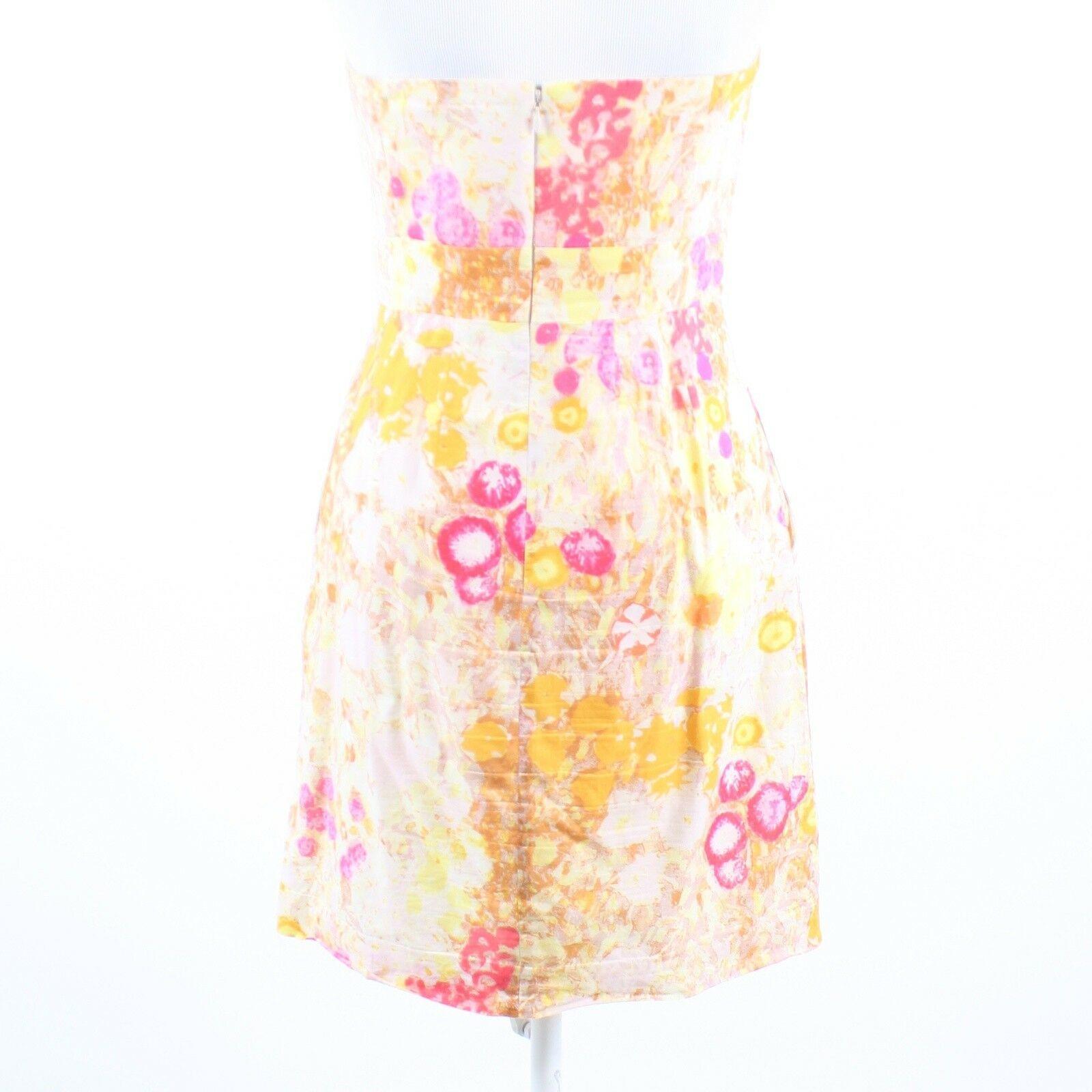 Multicolor floral print 100% cotton J. CREW sun dress 6 image 7