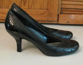 Etienne Aigner Black Fancy High Heel SHOES Woman's 8 M Round  Toe - $19.79