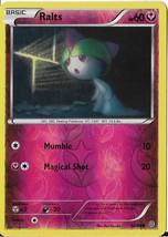 2015 Pokemon Ralts Reverse Foil HP60 52/98 - $0.99