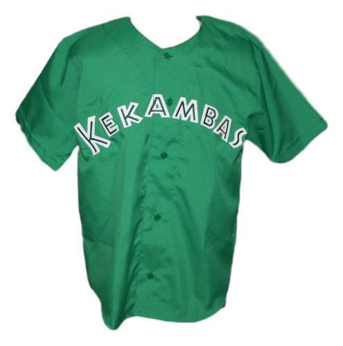 G baby  1 kekambas hard ball movie baseball jersey green   1
