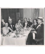 1956 Photo Simic Bill Jennings Don Rounds New Years Eve Dinner Dance - $18.55