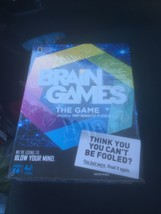 New/Sealed National Geographic Channel BRAIN GAMES The Game for Adutls - $15.74