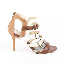 Jimmy Choo Strappy Suede Leather Sandals SZ 38 - $160.00