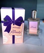 PHILOSOPHY Live Joyously Eau de Toilette Perfume Fragrance Womans NEW in... - $13.65