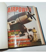AIRPOWER Combat Aviation Bound Magazines 1971 - 1972 Bombers Jets - $29.02