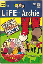Life With Archie Comic Book #35, Archie 1965 FINE/FINE+ - $29.98
