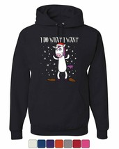 I Do What I Want Hoodie Christmas Xmas Rudolph Drinking Beer Sweatshirt - $22.41+