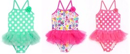 Op Toddler One Piece Swimsuits with TuTu's 3 Choices Sizes 3T NWT - $16.99