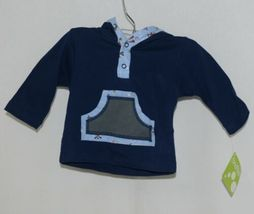 SnoPea Baby Boy Blue Ariplanes Long Sleeve Outfit 6 Months image 2