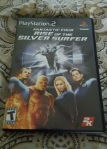 PLAYSTATION 2 : FANTASTIC FOUR - RISE OF THE SILVER SURFER  - $19.99