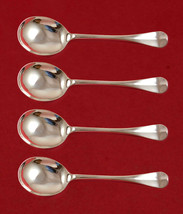 "Queen Anne-Williamsburg by Stieff Sterling Silver Gumbo Spoon 4-pc Set  7 1/2"" - $607.05"