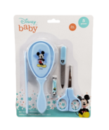 Disney Baby Mickey Mouse Blue 5 Piece Infant Grooming Set New Baby Gifts - $9.89