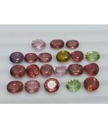 Multicolor maximum red eye clean tourmaline 20 Pcs lot 30.50 carat total... - $346.50