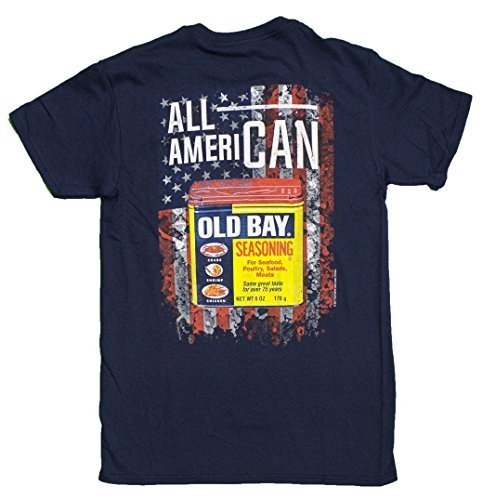 Primary image for Men's Officially Licensed Old Bay All American T-Shirt (Small)