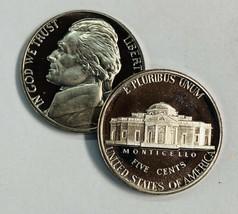 x5 2001-S Proof  Jefferson Nickel  5 Coins  - $8.25