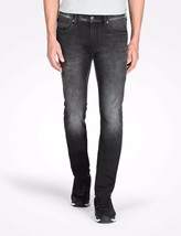 ARMANI EXCHANGE AUTHENTIC BLACK WASHED FLEECE SLIM FIT STRETCH JEANS NWT - $49.99