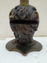 Imposante Unicorn wood sculpture carved Antique 1900 German Black Forest RARE ! image 11