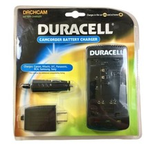 Duracell Universal Camcorder Battery Charger DRCHCAM Canon JVC Panasonic... - $34.55