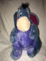 Disney Store original Eeyore Removable Detachable Tail Stuffed Plush Dol... - $26.89