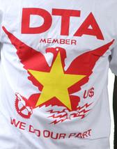 Rogue Status DTA Mens White Worldwide Vietnam Flag Crest T-Shirt Small Medium NW image 2