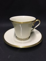 Excellent Lenox China - ETERNAL - Ivory with Gold Trim, Cup and Saucer - $20.00