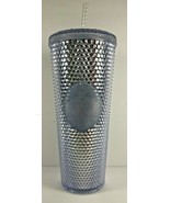 NEW Starbucks Holiday 2019 Venti 24 oz Platinum Silver Studded Cold Cup ... - $49.49