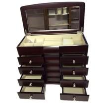 Elegance-20973-Jewelry Box-4 Drawers Anti Tarn Felt  - €290,98 EUR