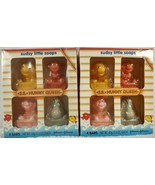 2 boxes of Johnson's Pooh & Pals Sudsy Little Soaps SS Hunny Queen 4 cou... - $19.99