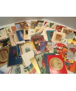 1.5+ Lbs Vintage Christmas Card Fronts, Crafting, Scrapbooking, Fronts O... - $22.00